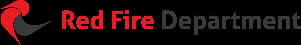 Logo Red fire Department V2 V3