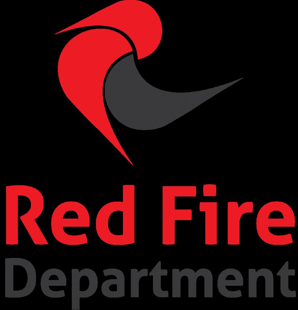 Logo Red fire Department V2 V5